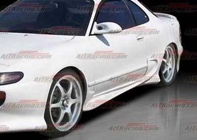 AIT Racing - Toyota Celica AIT Racing VS Style Side Skirts - TC90HIVSSSS