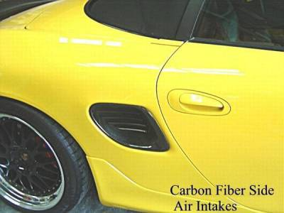 Custom - Carbon Fiber Side Air Intake set