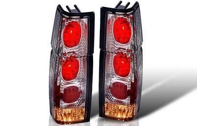 WinJet - Nissan Pickup WinJet Altezza Taillight - Chrome & Smoke - WJ20-0041-02