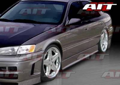 AIT Racing - Toyota Camry AIT EVO-3 Style Side Skirts - TC97HIEVO3SS
