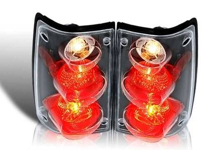 WinJet - Toyota Pickup WinJet Altezza Taillight - Black & Clear - WJ20-0045-04