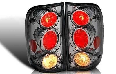 WinJet - Toyota Tacoma WinJet Altezza Taillight - Chrome & Smoke - WJ20-0046-02