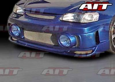 AIT Racing - Toyota Corolla AIT EVO Style Front Bumper - TC98HIEVOFBL