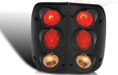 WinJet - Toyota Tacoma WinJet Altezza Taillight - Black & Smoke - WJ20-0046-05