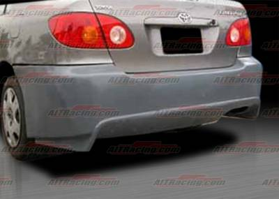 AIT Racing - Toyota Corolla AIT Racing VIR Style Rear Bumper - TCO03HIVIRRB