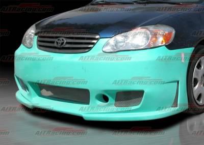 AIT Racing - Toyota Corolla AIT Racing Zen Style Front Bumper - TCO03HIZENFB