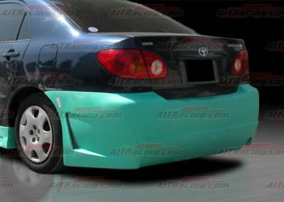 AIT Racing - Toyota Corolla AIT Racing Zen Style Rear Bumper - TCO03HIZENRB