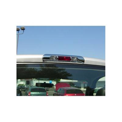 V-Tech - Dodge Ram V-Tech 3rd Brake Light Covers - French Cut Style- Chrome - 1371070
