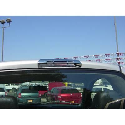V-Tech - Dodge Ram V-Tech 3rd Brake Light Covers - Slotted Style- Chrome - 1375070