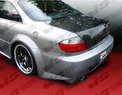 VIS Racing - Acura CL VIS Racing OEM Carbon Fiber Trunk - 00ACCL2DOE-020C