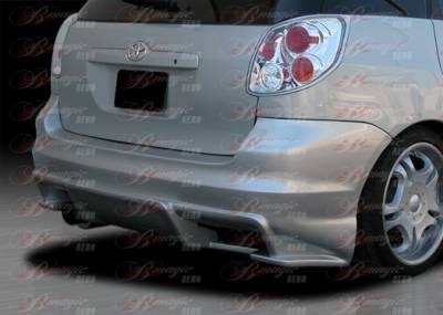 AIT Racing - Toyota Matrix AIT Racing Vascious Style B-Magic Rear Bumper - TMX03BMVASRB