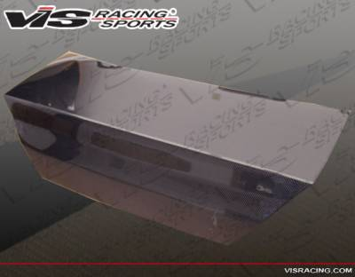 VIS Racing - Mitsubishi Lancer VIS Racing OEM Carbon Fiber Trunk - 02MTLAN4DOE-020C