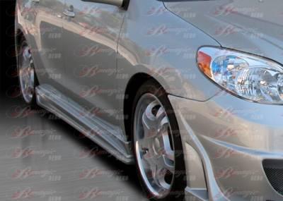 AIT Racing - Toyota Matrix AIT Racing Vascious Style B-Magic Side Skirts - TMX03BMVASSS