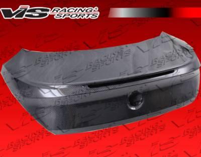 VIS Racing - BMW 6 Series VIS Racing OEM Style Carbon Fiber Trunk - 03BME632DOE-020C