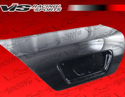VIS Racing - Honda Accord 2DR VIS Racing OEM Carbon Fiber Trunk - 03HDACC2DOE-020C