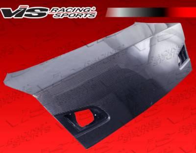 VIS Racing - Infiniti G35 4DR VIS Racing OEM Style Gen 2 Carbon Fiber Trunk - 03ING354DOE2-020C