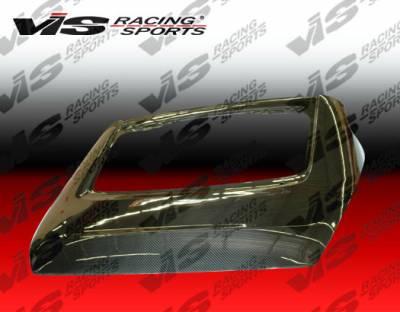 VIS Racing - Nissan 350Z VIS Racing OEM Carbon Fiber Hatch - 03NS3502DOE-020C