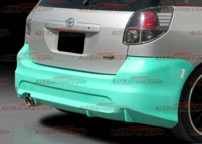 AIT Racing - Toyota Matrix AIT Racing T-Spec Style Rear Bumper - TMX03HITRDRB