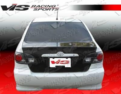 VIS Racing - Toyota Corolla VIS Racing OEM Carbon Fiber Trunk - 03TYCOR4DOE-020C