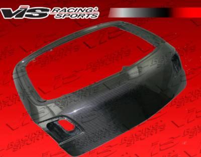 VIS Racing - Mazda 3 4DR HB VIS Racing OEM Carbon Fiber Trunk - 04MZ3HBOE-020C
