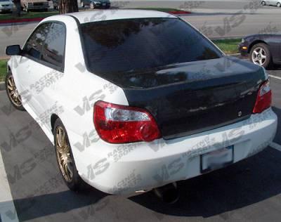 VIS Racing - Subaru WRX VIS Racing OEM Carbon Fiber Trunk - 04SBWRX4DOE-020C