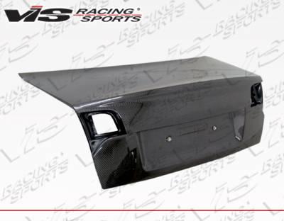 VIS Racing - Audi A4 VIS Racing OEM Style Carbon Fiber Trunk - 06AUA44DOE-020C