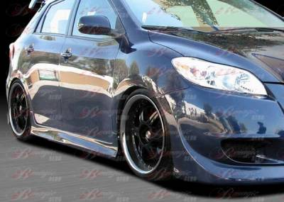 AIT Racing - Toyota Matrix BMagic DIB Style Side Skirts - TMX09BMDIBSS