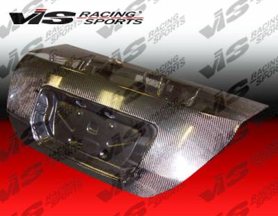 VIS Racing - Honda Civic 2DR VIS Racing OEM Carbon Fiber Trunk - 06HDCVC2DOE-020C