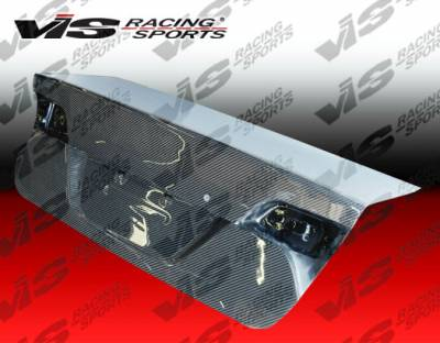 VIS Racing - Honda Civic 4DR VIS Racing OEM Carbon Fiber Trunk - 06HDCVC4DOE-020C