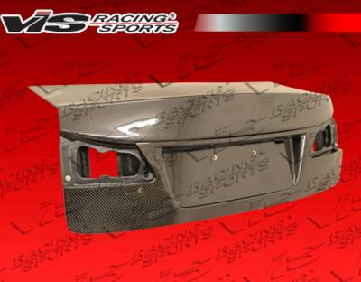 VIS Racing - Lexus IS VIS Racing OEM Carbon Fiber Trunk - 06LXIS34DOE-020C