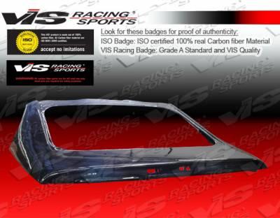 VIS Racing - Mitsubishi Eclipse VIS Racing OEM Carbon Fiber Hatch - 06MTECL2DOE-020C