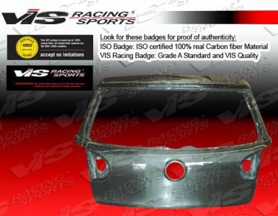 VIS Racing - Volkswagen Golf VIS Racing OEM Carbon Fiber Hatch - 06VWGOF2DOE-020C