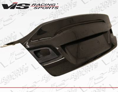 VIS Racing - BMW 3 Series 2DR VIS Racing AMS Style Carbon Fiber Trunk - 07BME922DAMS-020C