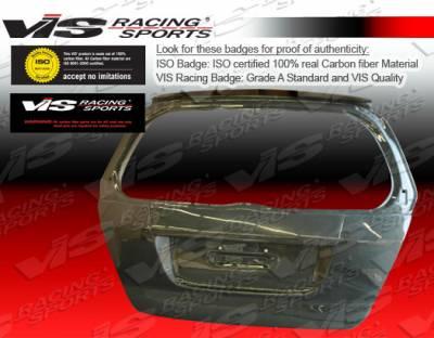 VIS Racing - Honda Fit VIS Racing OEM Carbon Fiber Hatch - 07HDFIT4DOE-020C