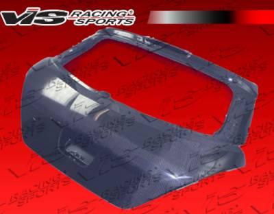 VIS Racing - Nissan Versa VIS Racing OEM Carbon Fiber Hatch - 07NSVERHBOE-020C