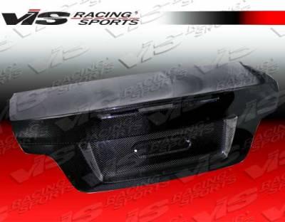 VIS Racing - BMW 1 Series VIS Racing OEM Euro Carbon Fiber Trunk - 08BME822DOE-020C