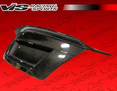 VIS Racing - Mercedes-Benz C Class VIS Racing Demon Carbon Fiber Trunk - 08MEW2044DDEM-020C
