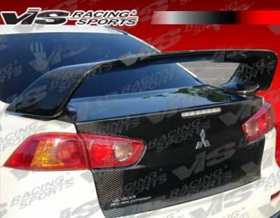 VIS Racing - Mitsubishi Lancer VIS Racing OEM Carbon Fiber Trunk - 08MTEV104DOE-020C