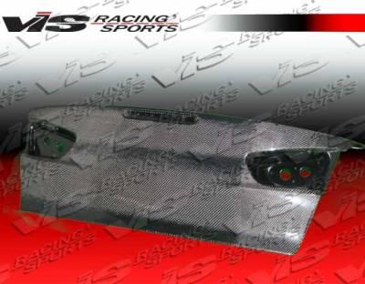 VIS Racing - Mitsubishi Lancer VIS Racing OEM Carbon Fiber Trunk - 08MTLAN4DOE-020C