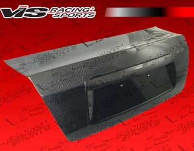 VIS Racing - Subaru WRX VIS Racing OEM Style Carbon Fiber Trunk - 08SBWRX4DOE-020C