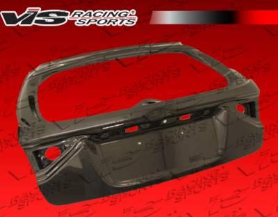 VIS Racing - Subaru WRX VIS Racing OEM Carbon Fiber Trunk - 08SBWRXHBOE-020C