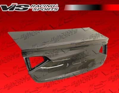 VIS Racing - Acura TSX VIS Racing OEM Carbon Fiber Trunk - 09ACTSX4DOE-020C