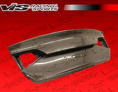 VIS Racing - Audi A4 VIS Racing OEM Style Carbon Fiber Trunk - 09AUA44DOE-020C