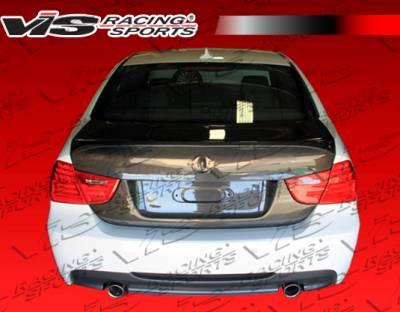 VIS Racing - BMW 3 Series 4DR VIS Racing CSL Carbon Fiber Trunk - 09BME904DCSL-020C