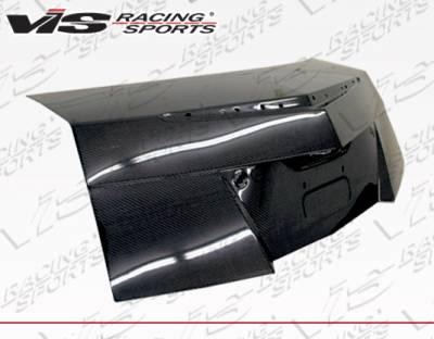 VIS Racing - Cadillac CTS VIS Racing OEM Style Dry Carbon Hood - 11CACTSV2DOE-020C