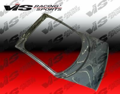 VIS Racing - Mitsubishi 3000GT VIS Racing OEM Carbon Fiber Hatch - 91MT3K2DOE-020C