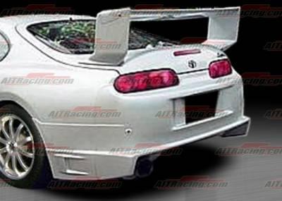AIT Racing - Toyota Supra AIT Racing BZ Style Rear Bumper - TSU93HIBZSRB