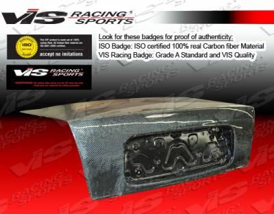 VIS Racing - Honda Prelude VIS Racing OEM Carbon Fiber Trunk - 92HDPRE2DOE-020C