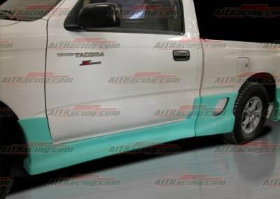 AIT Racing - Toyota Tacoma AIT Racing Drift Style Side Skirts - TTA95HIDFSSS