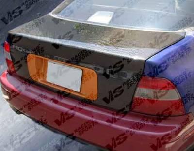 VIS Racing - Honda Accord 2DR & 4DR VIS Racing OEM Carbon Fiber Trunk - 94HDACC2DOE-020C